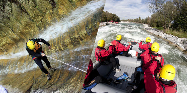 Rafting & Canyoning Package in Bayern Raum München